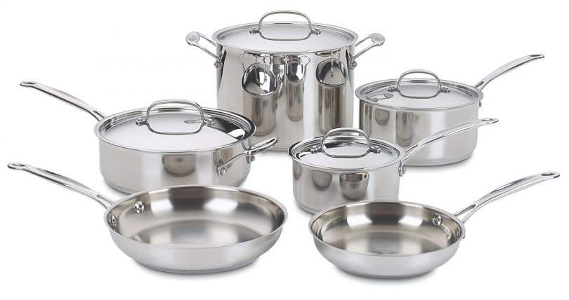 Cuisinart 77-10 Cookware Set