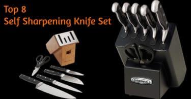 Best Self Sharpening Knives Set 2020