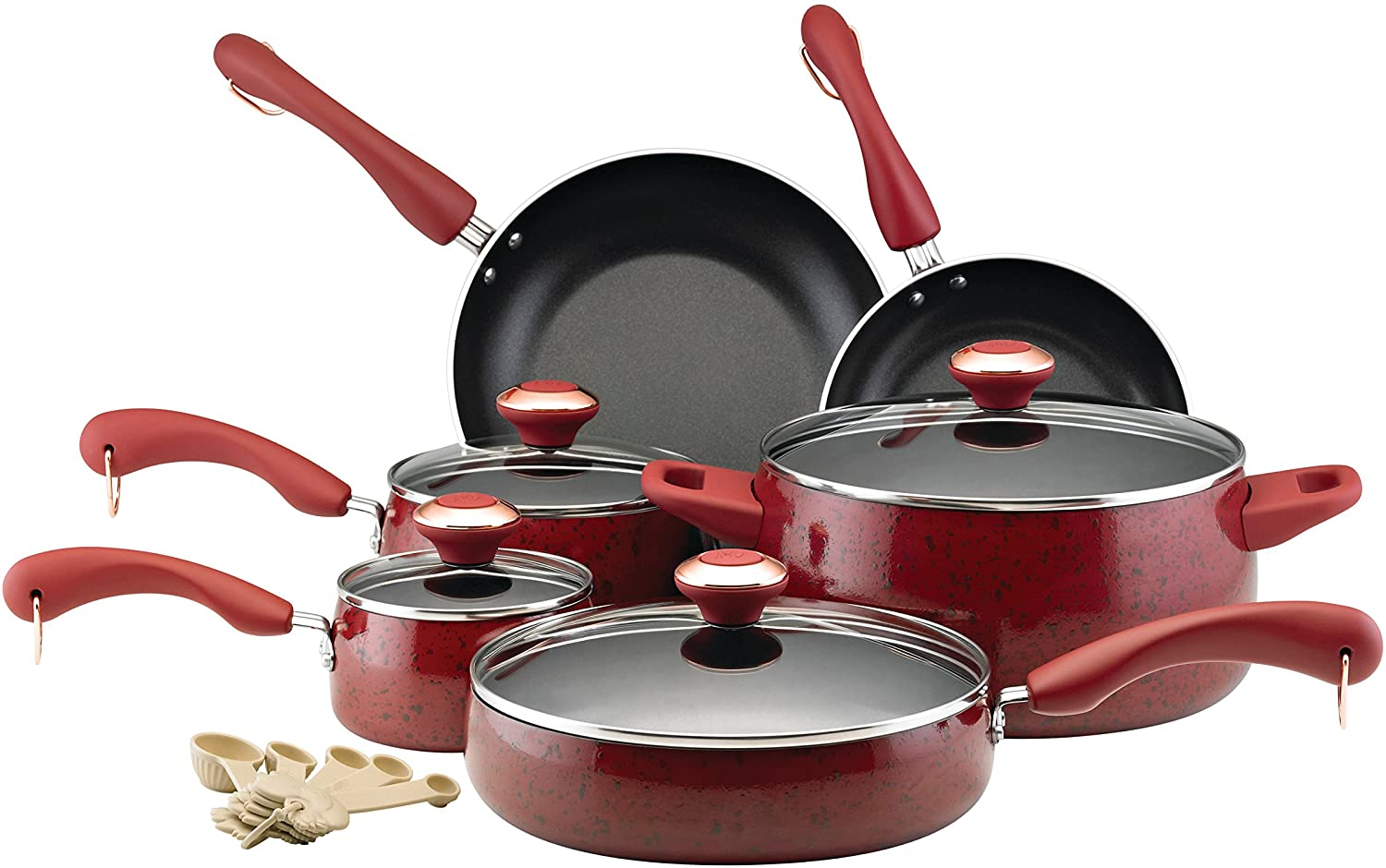 Paula Deen Signature Collection Porcelain Cookware for Glass Top Stoves Image
