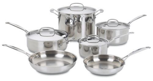 Cuisinart 77-7 Chef's Classic Stainless Cookware Set Image