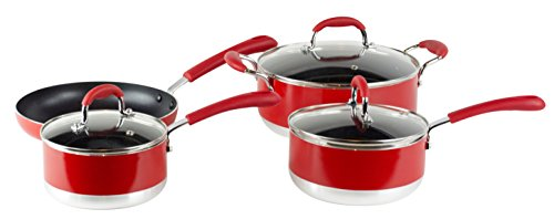 Gourmet Chef Induction Ready 7-Piece Non-Stick Cookware Set Image