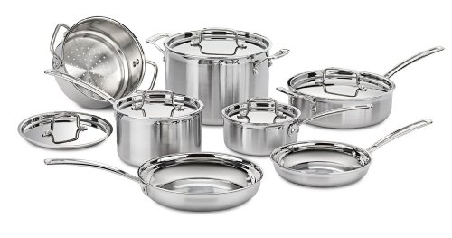 Cuisinart MCP-12N 12-Piece Induction Cookware Set Image