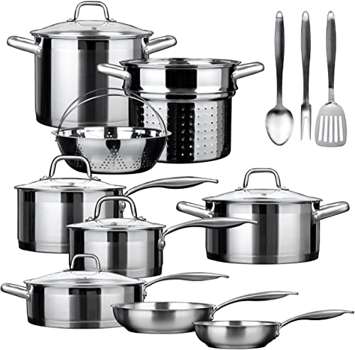 Duxtop 17 Piece Induction Cookware Set Image