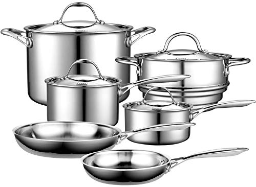 Cooks Standard Stainless Steel Induction Cookware Set Image
