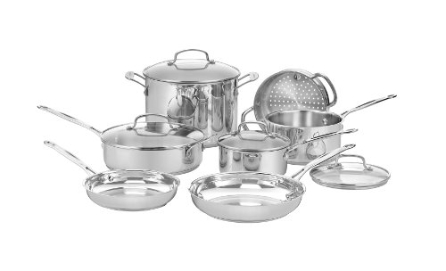 Cuisinart 11 Piece Cookware Set Image