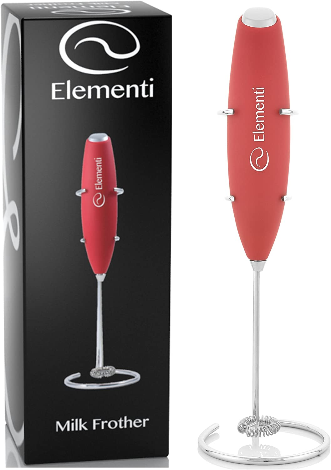 Elementi Milk Frother with Stand Image