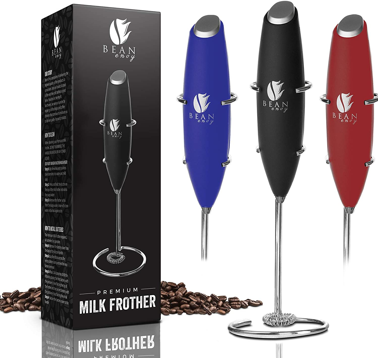Bean Envy Electric Milk Frother Image
