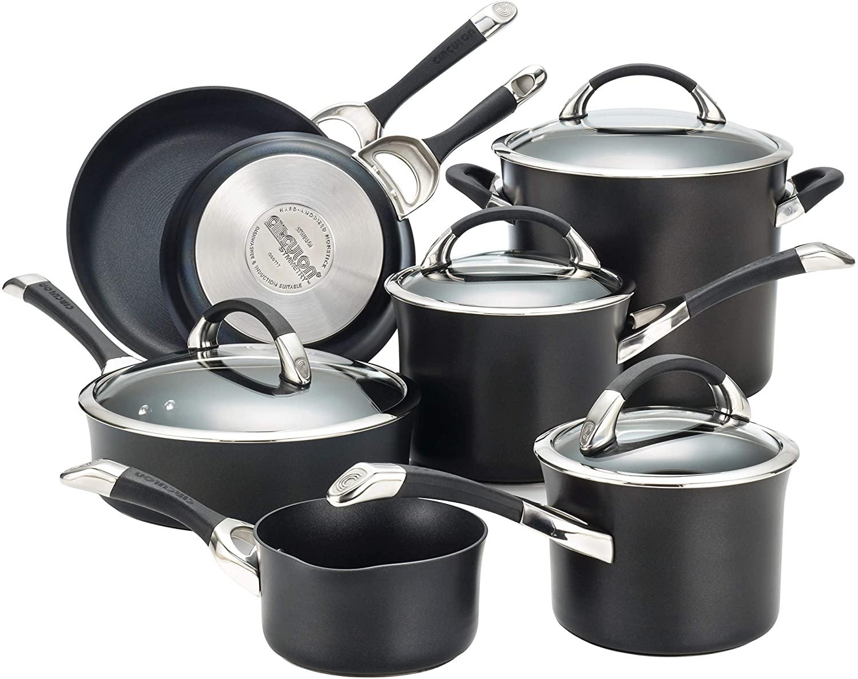 Circulon 87376 Symmetry Nonstick Cookware Set