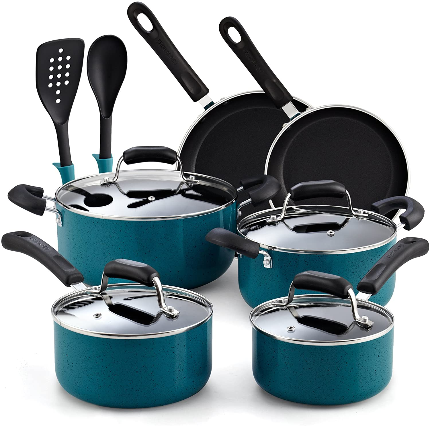Cook N Home Nonstick Cookware Set Image