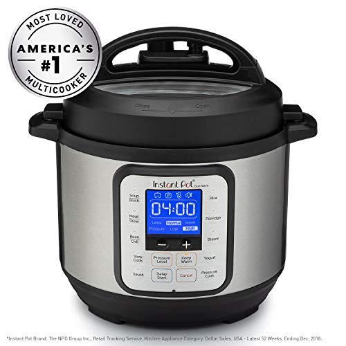 Instant Pot® Duo™ Nova™ 3-Quart 7-in-1, One-Touch Multi-Use Programmable Pressure Cooker, Slow Cooker, Rice Cooker, Steamer, Sauté, Yogurt Maker and Warmer with New Easy Seal Lid Image