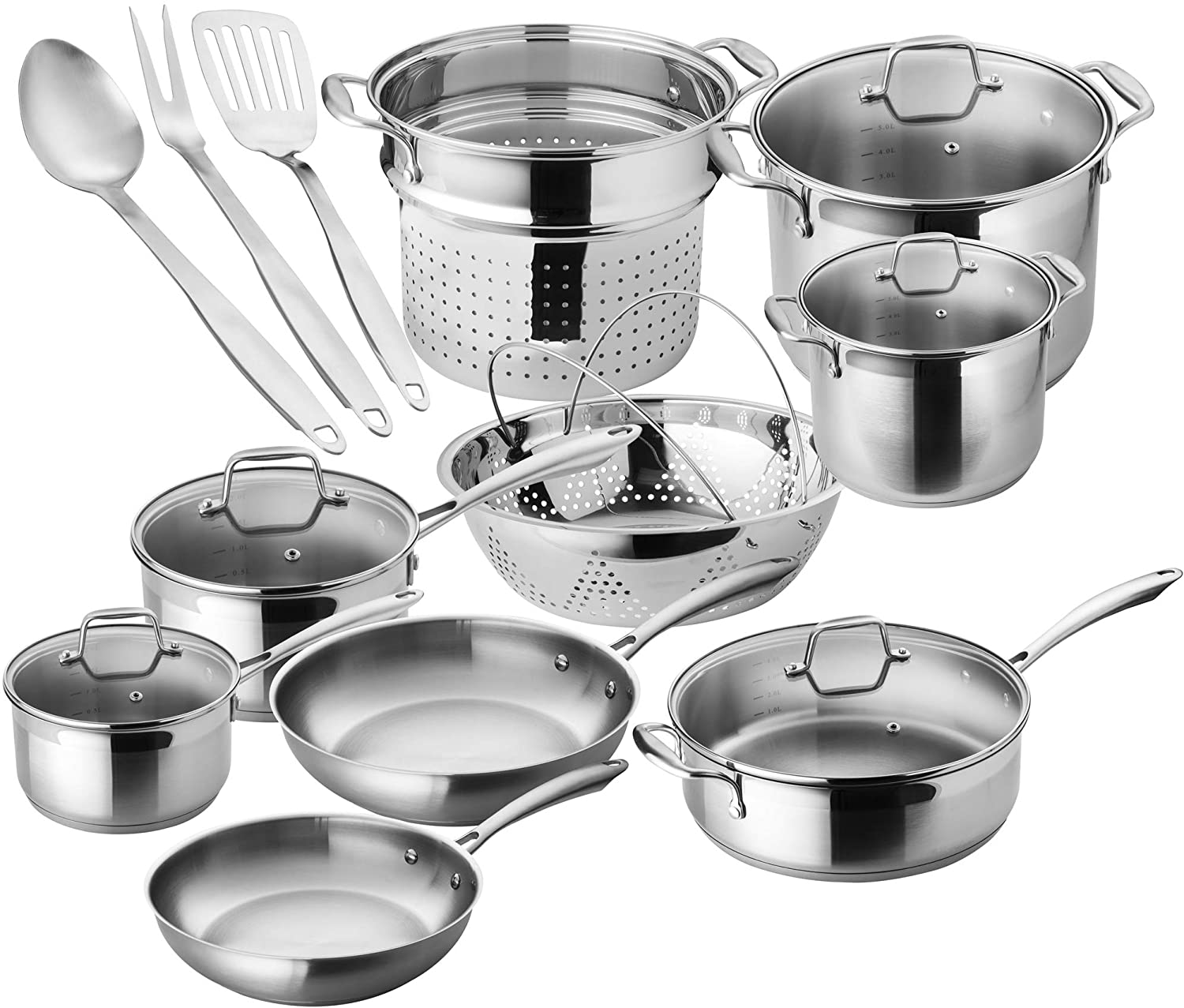 10 Best Stainless Steel Cookware Sets Top List For 2020 Updated Cookware Ideas