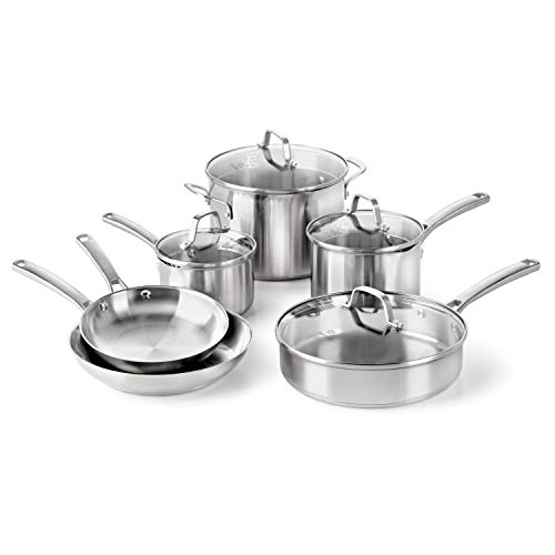Calphalon Classic Stainless Steel Cookware Set Image